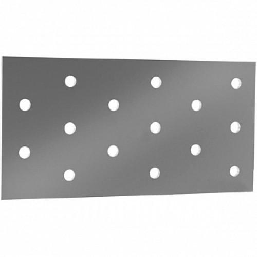 Перфорированная пластина 60x120x2мм