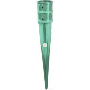 Забивная опора для столба зеленая 760x101x1 шт.