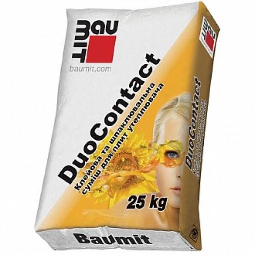Клей для теплоизоляции и армирования Baumit DuoContact 25 кг
