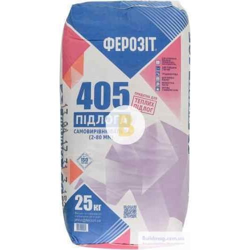 Самовыравнивающийся пол Ферозит 405 25 кг