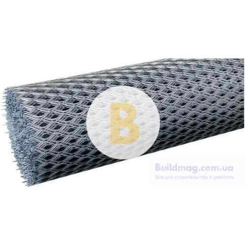 Сетка штукатурная просечно-вытяжная оцинкованная 10х25х0,55 10кв.м