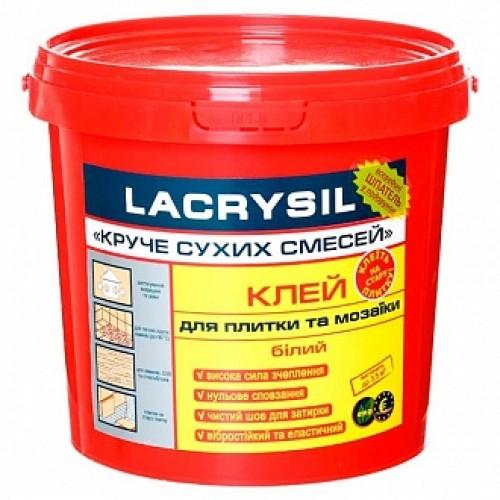 Клей для плитки и мозаики Lacrysil Круче сухих смесей 3кг