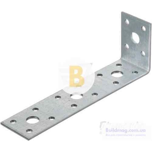 Металлический крепежный уголок 150x50x35мм 2,5мм