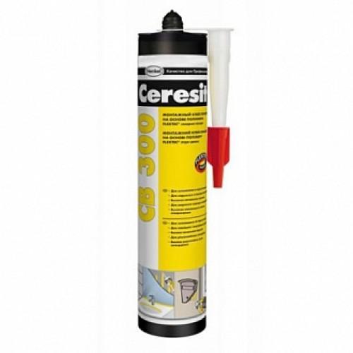 Клей-герметик Ceresit Flextec CB 300 300 мл белый