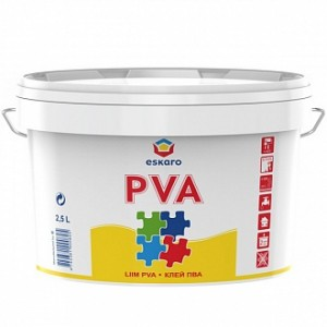 Клей PVA eskaro 2,5л