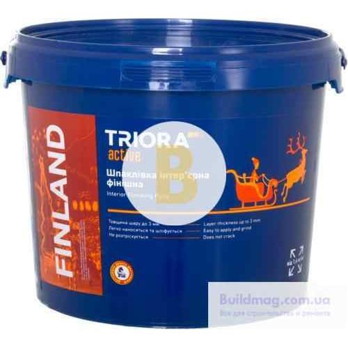 Шпаклевка Triora интерьерная финишная FINLAND 1,5 кг