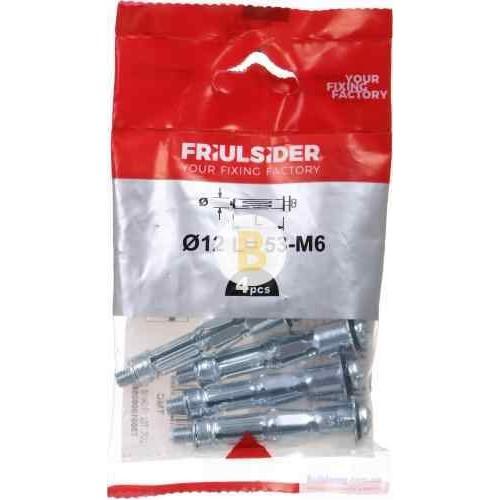 Анкер для гипсокартона 6x60 мм 1 шт М6x60 мм Friulsider