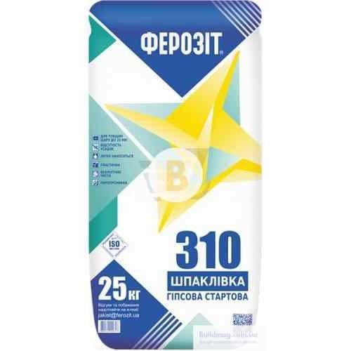 Шпаклевка Ферозит Старт 310 25 кг