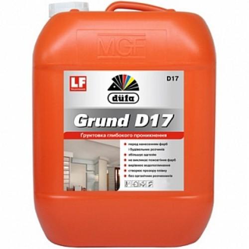 Грунтовка глубокого проникновения Dufa Grund D17 5 л