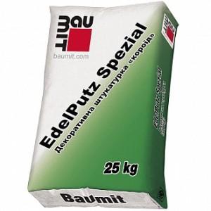 Декоративная штукатурка короед Baumit EdelPutz SM2 2 мм 25 кг