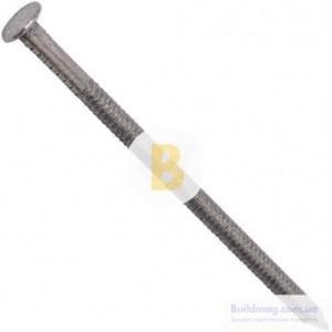 Гвозди кольцевые 3.4x90 мм вес без покрытия