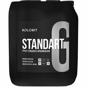 Грунтовка глубокого проникновения Kolorit Standart Grunt 5 л