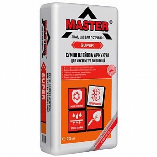 Клей для теплоизоляции и армирования Master ® Супер 25 кг