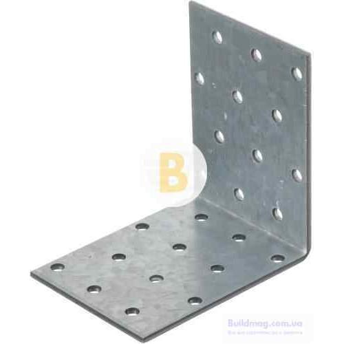 Уголок равносторонний 80x80x60мм 2,5мм