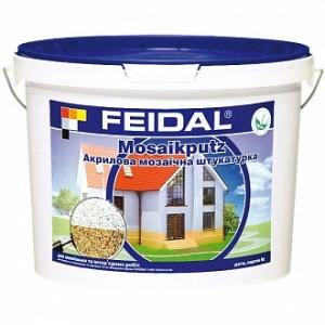 Декоративная штукатурка мозаичная Feidal Mosaikputz maxi C35 1-4 мм 25 кг