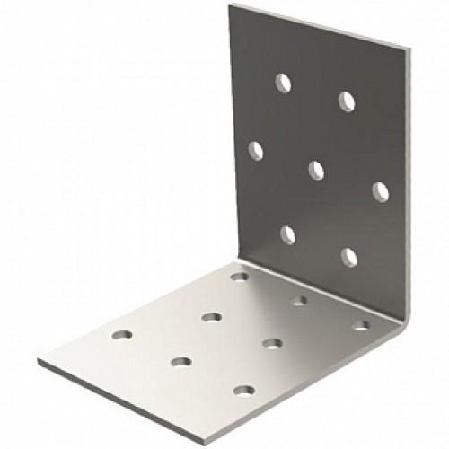 Перфорированный крепежный уголок равносторонний 50x50x50мм 2мм 6 шт.
