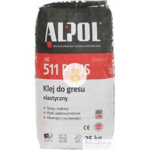 Клей для плитки Alpol AK 511 PLUS 25кг