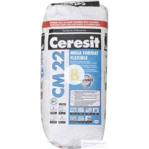 Клей для плитки Ceresit СМ-22 Mega Format Flexible 25кг