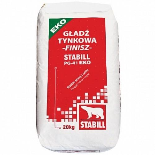 Шпаклевка STABILL PG-41 EKO 20 кг