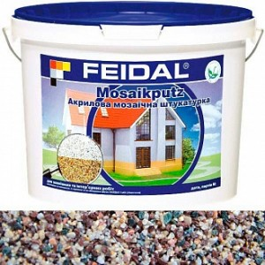 Декоративная штукатурка мозаичная Feidal Mosaikputz maxi C34 1-4 мм 25 кг