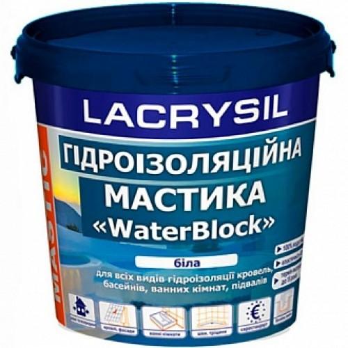 Мастика гидроизоляционная Lacrysil WaterBlock 1,2 кг