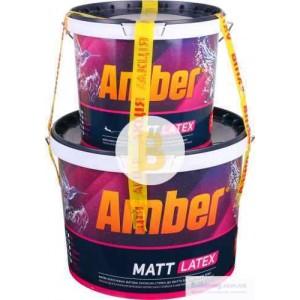 Краска латексная Amber Matt Latex мат белый 15л 10 + 5 л