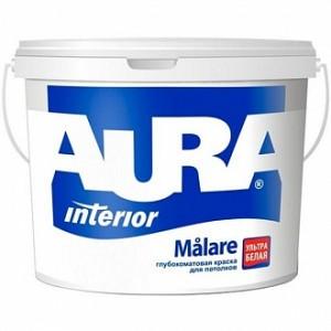 Краска Aura Malare белый 5л 5кг