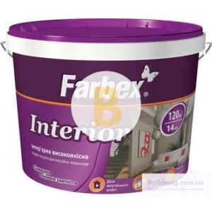 Краска акриловая Farbex Interior база С мат база под тонировку 3,6кг