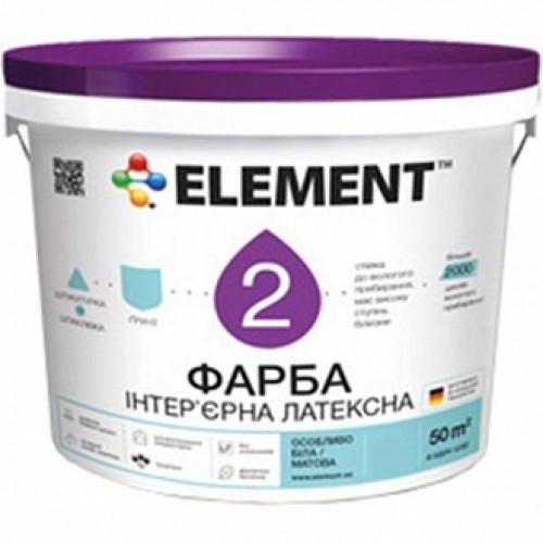 Краска Element 2 белый 5л