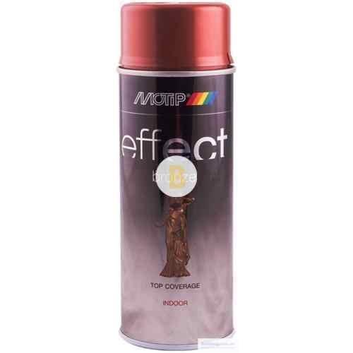 Аэрозольная краска в баллончике Motip Deco Effect с эффектом бронзы медь 400 мл