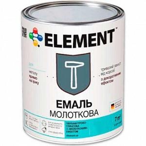 Эмаль Element алкидная антикоррозийная 3 в 1 Стоп іржа серый глянец 0,7кг