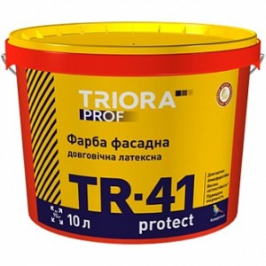Краска Triora TR-41 protect база TR база под тонировку 10л