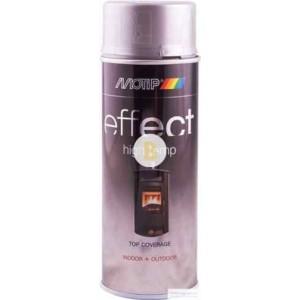 Аэрозольная краска Motip Deco Effect высокотемпературная серебряный 400 мл