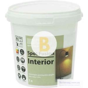 Краска акриловая водоэмульсионная Spot Colour Fusion Interior глубокий мат белый 1л