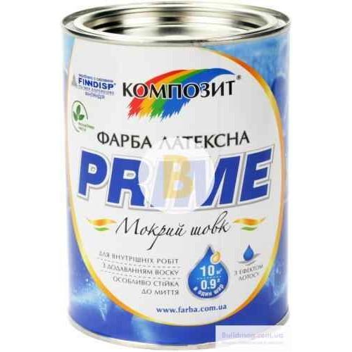 Краска Kompozit PRIME белый 0,9л
