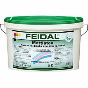 Краска латексная Feidal Mattlatex мат белый 5л