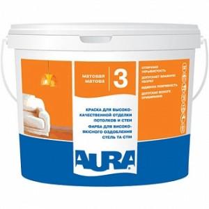 Краска Aura Luxpro 3 белый 1л 1,35кг
