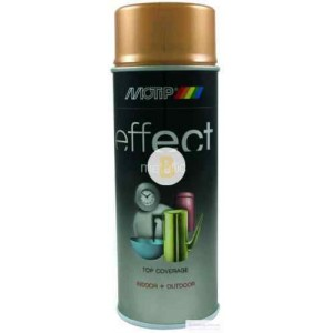 Аэрозольная краска Motip Deco Effect с эффектом металлик античное золото 400 мл