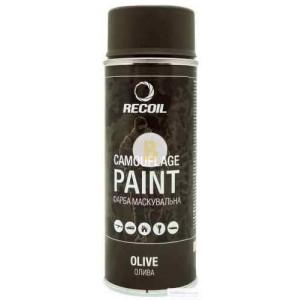 Краска маскировочная в баллончике Recoil Олива 400 мл
