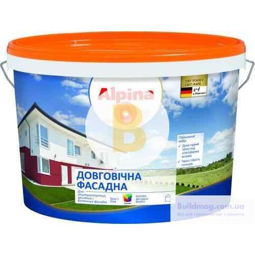 Краска Alpina Долговечная B3 база под тонировку 1л