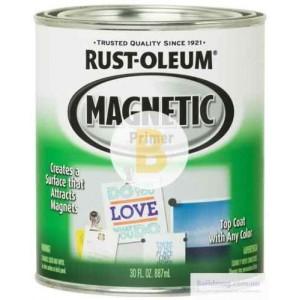 Краска магнитная Rust Oleum Magnetic Primer темно-серый 0,887 л 2,5кг