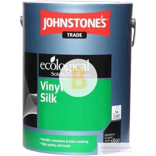 Краска Johnstone's Vinyl Silk белый 1л