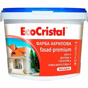 Краска EcoCristal EcoCristal Премиум ИР-132 белый 3л