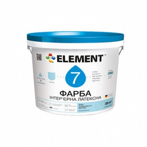 Краска Element 7 База А белый 10л