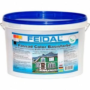Краска акриловая Feidal Fassaden Basisfarbe мат база под тонировку 2.3л