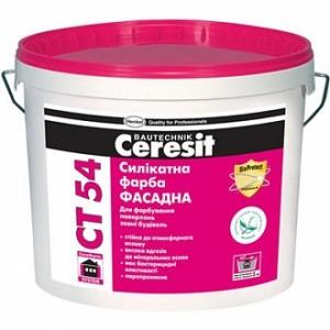 Краска Ceresit CT 54 База А белый 3л 4кг