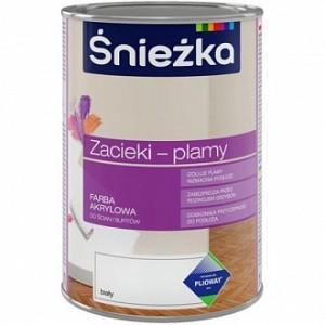 Краска Sniezka Zacieki-plamy белый 0,4л