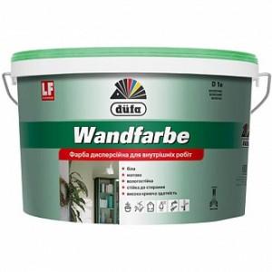 Краска акриловая водоэмульсионная Dufa Wandfarbe D1a мат белый 7кг