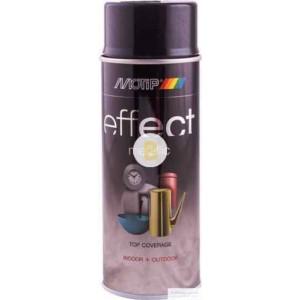 Аэрозольная краска Motip Deco Effect с эффектом металлик черный 400 мл