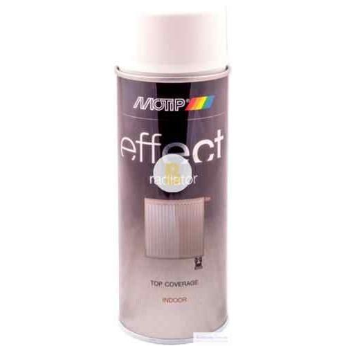 Аэрозольная краска Motip Deco Effect для бытовых радиаторов белый мат 400 мл